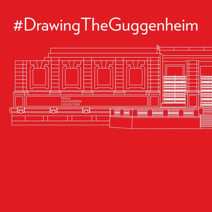 Drawing the Guggenheim